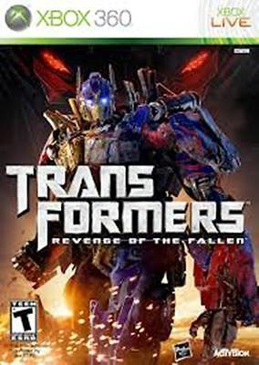 Transformers Revenge of the Fallen Xbox 360 FREE POST VERY GOOD!