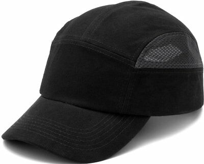 Pyramex Safety HP50011 Baseball Bump Cap , Hard Hat (Black & Grey)