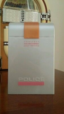 New Very Rare Discontinued Police Interactive Eau De