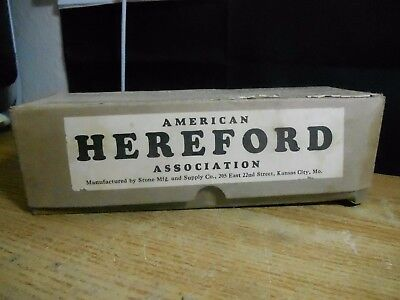 Cow Cattle American Hereford Association Tattoo Kit Ink Tools  Digits More Plus