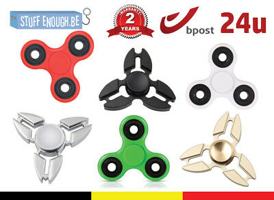 Tri Fidget Hand Finger Spinner Anti Bearing Stress Ultimate Spin Toy All Color