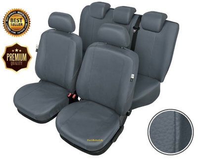 Tailored Car Seat Covers Full Set Eco Leather For VAUXHALL ASTRA IV (J)