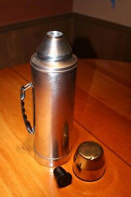 UNO-VAC Stainless Steel 2 Quart Thermos Big Boy Vintage