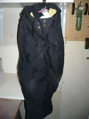 Columbia Youth Snow Pants Ski Size 7 / 8 Black Water Resistant Lining