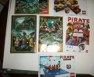 Lego Pirate Plank Game 3848 Retired Factory Sealed New Nib