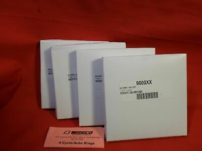 Wiseco Piston Ring Set 4 Cylinder 90mm  9000XX RINGS