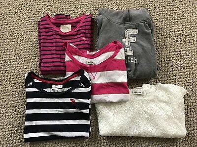 Girls Abercrombie Kids Lot Of 5 Tops Shirts Size Large