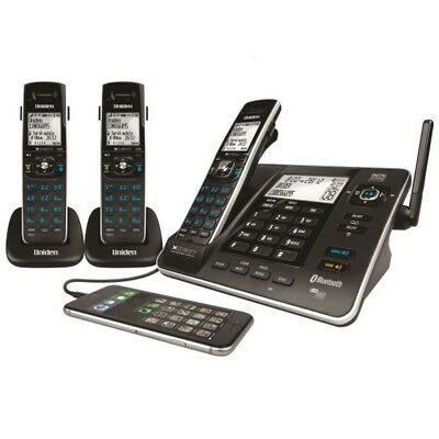 Uniden Extended Digitally Enhanced Cordless Telecommunications 0 XDECT8355+2