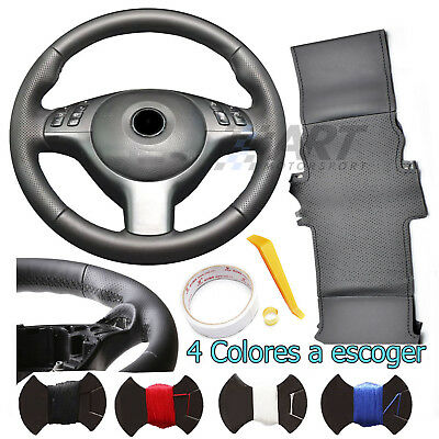 Cover Steering Wheel Custom Leather Smooth for BMW E92 E93 Series 3 with Pack M