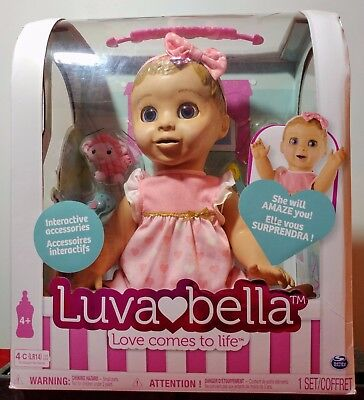 Luvabella Blonde Hair Doll - Brand New Boxed