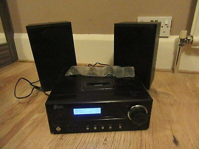 Ipod & DAB Micro system with speakers