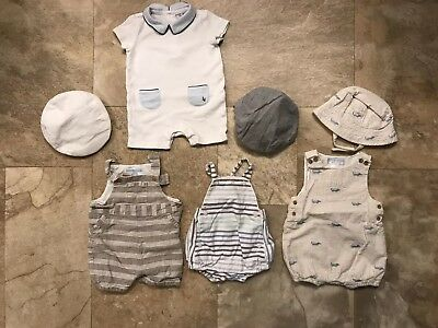 Baby Boy Janie And Jack Large Lot 0-3 Months