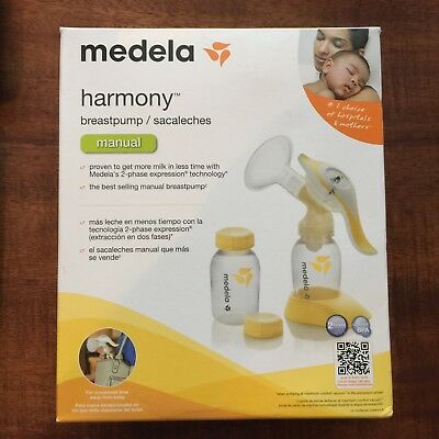 Medela Harmony Manual Breast Milk Pump (Unused - Open Box)