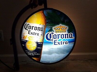 Very Rare Original Corona Extra Pub Beer Sign Large