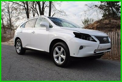 2015 Lexus RX  2015 Lexus RX350 AWD Low Mile Navi Salvage Wrecked Rebuildable Save Big!!!