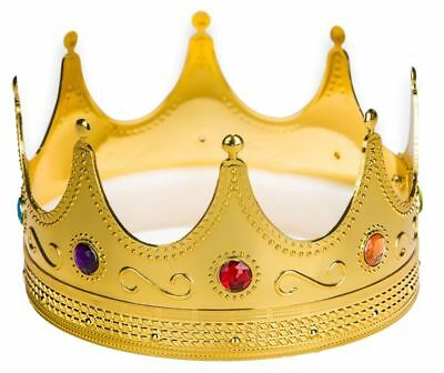 Prom King Crown Costume Showing Drama Movie Prince Fun Accessory Hat Top Quality