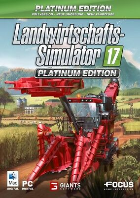 Landwirtschafts-Simulator 2017 Platinum Edition PC/MAC Key LS 17 sofort per Mail