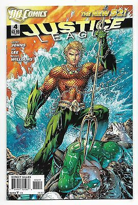 Justice League #4 Very Fine/Near Mint New 52