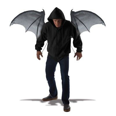 Adult Wicked Demon Wings Halloween Vampire Bat Costume Party Accessory