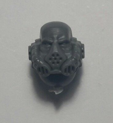 WARHAMMER 40K Space Marine Tactical Head with Rebreather (TAC085)