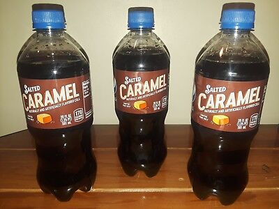 ☆ Salted Carmel pepsi holiday limited edition lot 20 oz NEW ☆