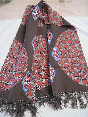 Vintage Opera Scarf - Art Deco, Men's or Women's -  Silk?