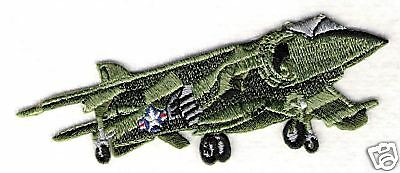 HARRIER VTOL Airplane Aircraft Aviation Collectable Military Embroidered Patch