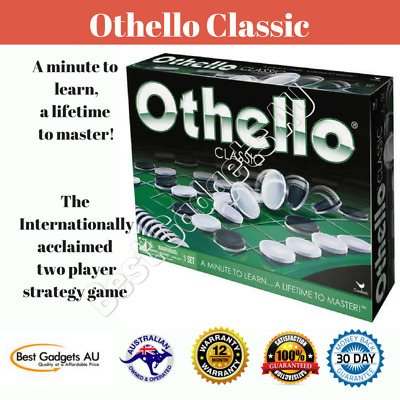 Othello Classic Cardinal Strategy Board Game 2 Players Family Vintage Fun Toys