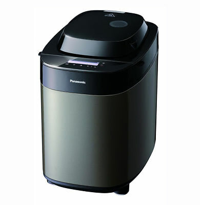 Panasonic SD-ZX2522KXC New Bread Maker Black Stainless Steel with 37 Programs