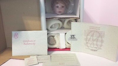 Marie Osmond Baby Sonja Porcelain Doll Coa #685 New In Box Never Unwrapped