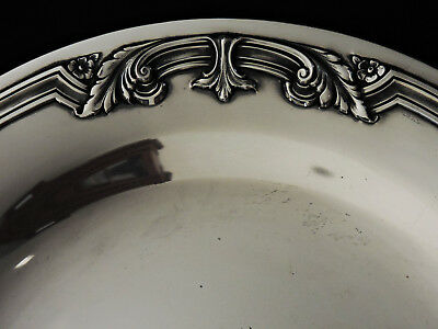"""Sterling silver tray, Towle, presentation-13th Atack Squadron-Air Force,1937,11"""""""