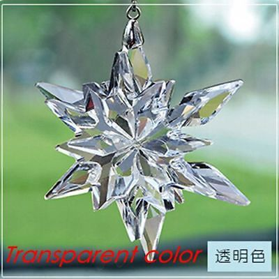 2017 Annual Edition Large Christmas Ornament New snowflake Swarovski Crystal New