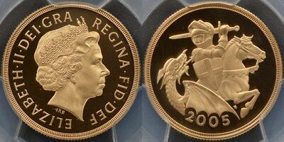 Great Britain, 2005 Proof Two Pound - PCGS PR69DCAM