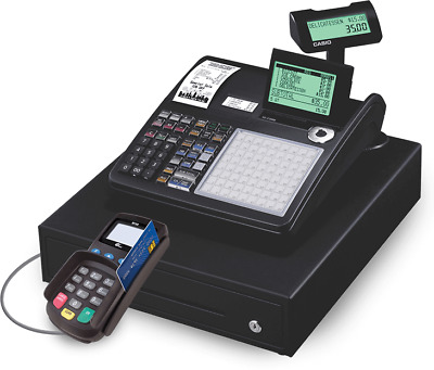 FREE Casio Cash Register W CREDIT CARD READER. MERCHANT ACCOUNT REQUIRED