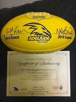 2014 Signed Adelaide Crows Football