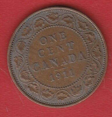 Canada 1 Cents 1911