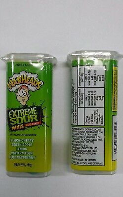 Warheads Extreme Sour Mini Hard Candy 49g