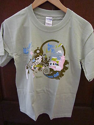 Brand New~Unworn~Pale Green~Fuel Channel T-Shirt~Size M~Gold Coast~Bargain Buy~