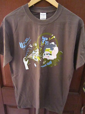 Brand New~Unworn~Khaki Green~Fuel Channel T-Shirt~Size M~Gold Coast~Bargain Buy~
