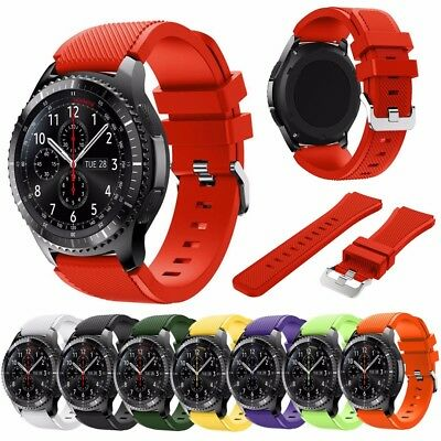 Silicone Replacement Wrist Straps Band For Samsung Gear S3 Classic / Frontier