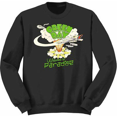 NEW Green Day Kids Youth's Fit Sweatshirt: Welcome to Paradise (3 - 4 Years (Sma