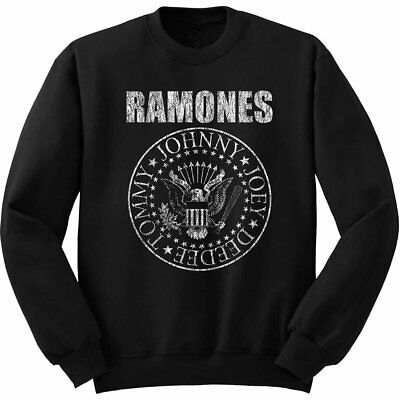 NEW Ramones Kids Youth's Fit Sweatshirt: Presidential Seal (5 - 6 Years (Medium)