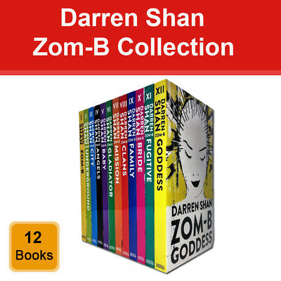 Darren Shan ZOM-B series 12 books collection pack set Goddess,Fugitive NEW BRAND
