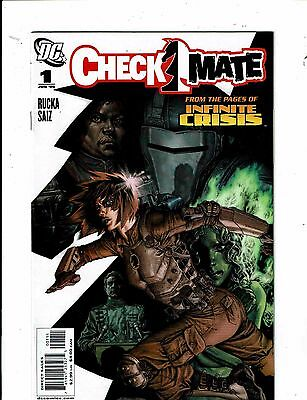 Lot Of 8 Checkmate DC Comic Books # 1 2 3 4 5 6 7 8 Batman Superman Flash J212