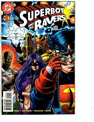 Lot Of 9 Superboy & The Ravers DC Comic Books # 1 2 4 5 6 7 8 9 10 Batman J214