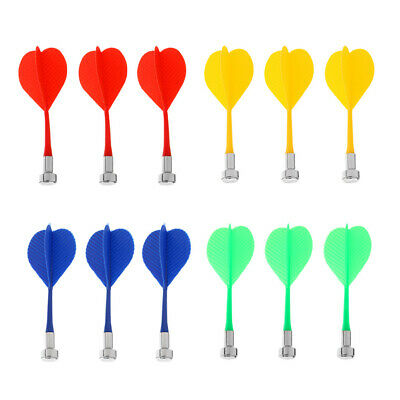 12 Pieces Colorful Magnetic Darts Set Indoor Game Safety Replacement Darts
