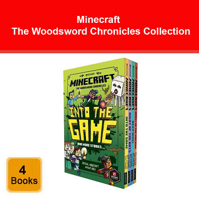 Minecraft Guide Collection 4 Books Collection Box Set Exploration, Creative NEW