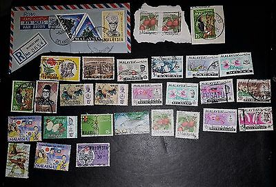 MALAYSIA Mixed Selected Stamps (No1052)