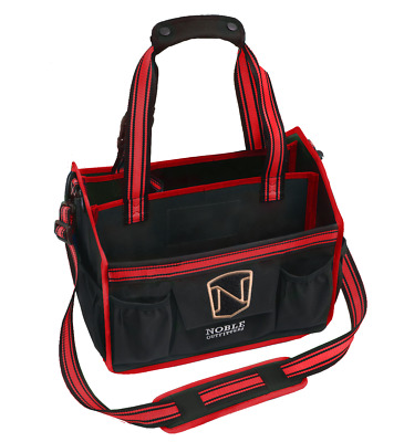 Noble Outfitters EquinEssential Tote - Black with Red Trim