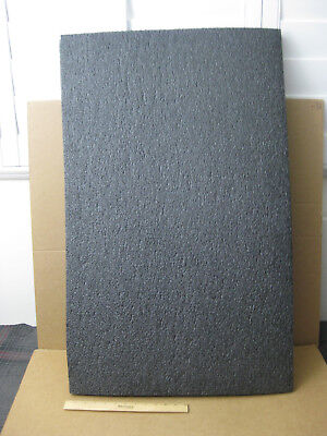 "Large Black Polyethylene Packing Shipping Foam Sheets (37-1/4"" x 25-3/4"" x 1"")"